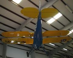 PASM0052 - WWII - American - Waco UPF-7 - Trainer - 1937 (gberg2007) Tags: blue arizona usa yellow museum waco tucson aviation unitedstatesofamerica wwii worldwarii trainer biplane pimaairspacemuseum upf7