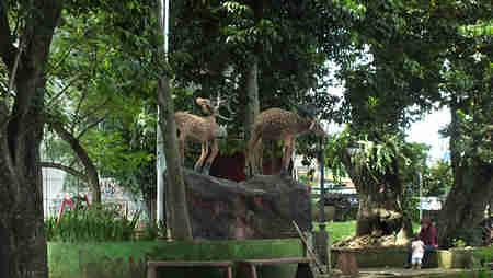 Patung Kijang di Taman Peranginan