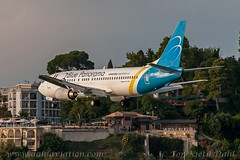 UR-GAP, Blue Panorama Airlines (Leased from Ukraine International Airlines ). Boeing 737-4Z9 - cn 27094. (dahlaviation.com Thanks for over 1 !! million view) Tags: airplane aircraft aviation airplanes greece boeing corfu kerkyra spotting 737 aircrafts planespotting cfu ukraineinternationalairlines lgkr bluepanorama