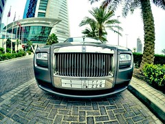 RR with number plate nr 1 from Saudi!