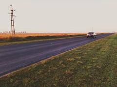 Siesta al costado del camino/ Naping on one side of the road (Patricio J. Marcó) Tags: road sunset 3 cars argentina ruta vw speed sedan strada carretera canals route estrada cordoba bora provincial rodovia oute roadsunset