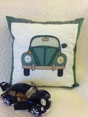 Fusca... (Criao Exclusiva da Ane) Tags: vintage carros decorao tecido fusca almofadas apliqu volkswagem aplicaao