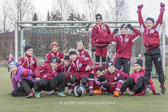 1604_FOOTBALL-111 (JP Korpi-Vartiainen) Tags: game girl sport finland football spring soccer hobby teenager april kuopio peli kevt jalkapallo tytt urheilu huhtikuu nuoret harjoitus pelata juniori nuori teini nuoriso pohjoissavo jalkapalloilija nappulajalkapalloilija younghararstus