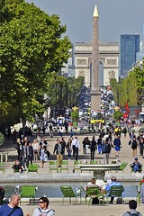 Cleopatra's Needle (AntyDiluvian) Tags: park trip paris france garden champselysees obelisk tuileries arcdetriomphe placedelaconcorde cleopatrasneedle 2015