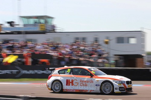 Jack Goff during the BTCC Weekend at Thruxton, May 2016