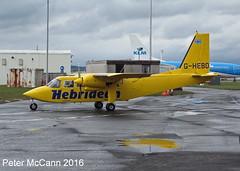 G-HEBO Islander Glasgow April 2016 (pmccann54) Tags: hebridean bn2islander ghebo