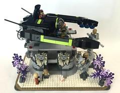 The Pincer in Kaldahan (naugem) Tags: lego resistance anthology outpost starfighter eurobricks