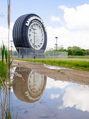 _5132010 (elsuperbob) Tags: monument giant michigan detroit tire ferriswheel americana roadside roadsideamerica worldsfair 1964 motorcity carculture uniroyal allenpark