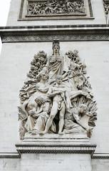 La Paix de 1815 - haut relief sculpture - Arc de Triomphe (Monceau) Tags: sculpture paris arcdetriomphe hautrelief lapaixde1815