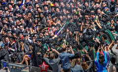 A Moment Not To Be Forgotten (jrussell.1916) Tags: college champagne graduation jayhawks universityofkansas schoolofmedicine photomatixessentials canonef70200f4lis14tc