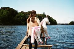 (Marco Antonecchia) Tags: lake lago contax fujifilm unicorn calcutta contaxt2 sabaudia fujicolor calcuttabackstage
