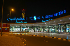 Dubai, UAE (DitchTheMap) Tags: world new travel architecture modern fly al airport asia flickr dubai exterior gulf united transport uae central flight east emirates international arab arabia middle 13 unitedarabemirates ae arrivals maktoum 2016