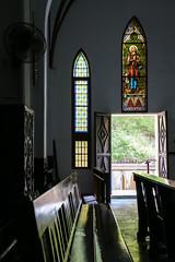 St. Joseph's Cathedral, Hanoi, Vietnam (inchiki tour) Tags: door travel church window architecture photo asia southeastasia arch cathedral interior vietnam hanoi   staindglass   stjosephscathedral  hni