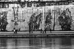Roma-Lungotevere (ezio.scotti) Tags: bw roma lungotevere lazio anni 2016 fiumi