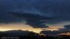 2016/05/16 Caapava Cu (Ary Leber) Tags: sunset sky cloud storm cu nuvem entardecer tempestade caapava
