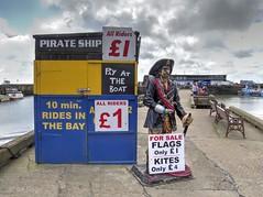 Pirate Ship (Ian Gedge) Tags: england english uk britain british 1 pirate ship yorkshire bridlington kiosk harbour