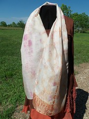 Etsy006 (3) (theresaknits) Tags: silk printing scarves dyeing eco