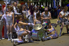 The Band (swong95765) Tags: people music musicians silver dancers band posing lgbt entertainers splitz
