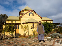 Father Gerasim - Candle Maker Extraordinaire (Geoff Wise) Tags: church au australia monk newsouthwales russianorthodox bungarby