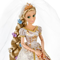 """Tangled Ever After Rapunzel Doll -- 12"""" H (DarthHans13) Tags: wedding rapunzel tangled ever after disney dolls store princess collector animation blonde"""