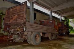 fiat 690 N1 (riccardo nassisi) Tags: abandoned truck rust ruins fiat decay rusty camion scrapyard om 690 biella scrap tigre n1 ruggine relitto urbex rottame abbandonato fornace epave