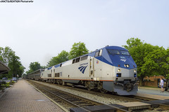 Amtrak Auto Train (ExactoCreation) Tags: auto railroad train diesel engine amtrak locomotive ge p40 superliner amfleet