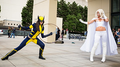 PS_81316 (Patcave) Tags: heroes con heroescon heroescon2016 2016 convention cosplay costumes cosplayers marvel dc portrait shoot shot canon 1740mm f4 lens patcave 5d3 northcarolina north carolina charlotte center indoors air conditioning x23 white queen emma frost xmen mutants