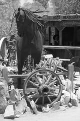 joshuatree21 (bertabetti) Tags: art fleamarket swapmeet yuccavalley horsestatue hdts roadtripdesert
