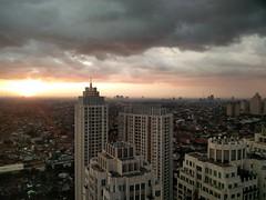 Sunset in Pakubuwono (A. Wee) Tags: sunset indonesia jakarta   pakubuwono