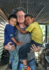 Lester, Emerson, & me! (Pejasar) Tags: friends amigos lester emerson rural guatemala boys