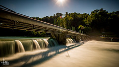 Constant  Stream (Ukelens) Tags: longexposure sunset summer sun flow schweiz switzerland waterfall stream sonnenuntergang suisse wasserfall swiss sommer waterfalls waters bern svizzera sonne sunbeam sonnenstrahl sonnenschein langzeitbelichtung wasserflle berncity ukelens