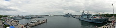 P2310649 (Lumixfan68) Tags: panorama marine hafen kiel marinesttzpunkt schwenkpanorama tirpizhafen