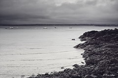 Moody St Ives (Ali Ly) Tags: sea holiday beach rain clouds cornwall day outdoor stives