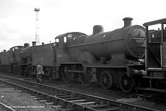 13/06/1962 - Crewe South (5B) MPD. (53A Models) Tags: britishrailways fowler lms sdjr 2p 440 40696 steam withdrawn crewe south 5b mpd cheshire train railway locomotive railroad
