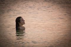 (El Stevo13) Tags: ocean park sunset sea woman water lady swim honda keys island mar highway state florida bahia cay overseas