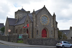 Shetland Islands.  Lerwick. This church is now the town library. (Anne & David (Use Albums)) Tags: church library lerwick shetlands shetlandislands