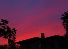 One of Our Better Sunsets (caboose_rodeo) Tags: sunset sky favorite clouds norwalkct 7020 1061views