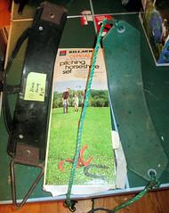 20150516 - yardsale haul - IMG_0420 - swings, horseshoes (Rev. Xanatos Satanicos Bombasticos (ClintJCL)) Tags: 20150516 201505 2015 yardsale yardsale20150516 game horseshoe horseshoes swing swings virginia alexandria clintandcarolynshouse upstairs