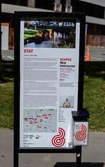 All About Stay (Jocey K) Tags: newzealand christchurch words stay gormleystatue scape8