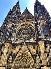 St Vitus Cathedral (Deydodoe) Tags: church europe catholic czech prague cathedral religion praha czechrepublic iphone stvitus 2015