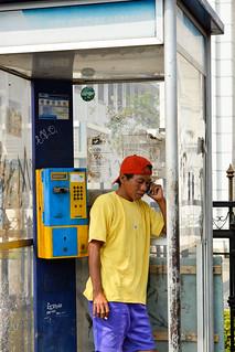 Public phone, Kota Tua, Jakarta
