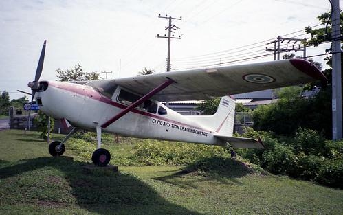 Cessna U-17A 66-14425-01 CATC Hua Hin Jul95