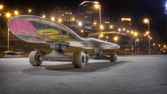 skate street (facubertelli) Tags: street calle skate skateboard hdr patineta