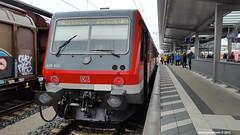 Streiktag 1: 628 639 D-DB (dolanansepur) Tags: train mnchen br 628 zug db streik bahn deutsche regionalbahn sdostbayernbahn