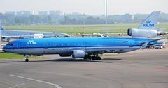KLM Royal Dutch Airlines McDonnell Douglas MD-11 PH-KCD Profile (2) (Mark 1991) Tags: amsterdam klm schiphol ams md11 mcdonnelldouglas royaldutchairlines amsterdamairport amsterdamschiphol phkcd amsterdamschipholairport