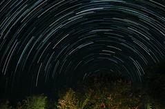My first try Star trails (jengguru) Tags: sky star firsttime omd startrails em5