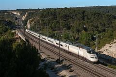 S 100 RENFE (Enrico Bavestrello) Tags: railroad france train nikon railway zug trains aixenprovence francia trainspotting renfe ferrovia treni s100 ferrovie highspeedtrain lgv nikond5000 s100renfe