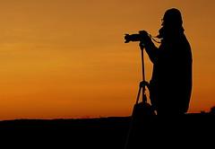 Sunset photographer (patrick_milan) Tags: sunset silhouette soleil photographer coucher couchersoleil
