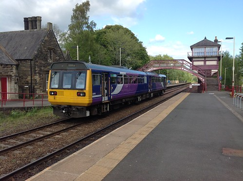 Pacer 142 Class Railbus at Haltwhistle