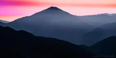 Big Sur Highs (philipleemiller) Tags: california sunset nature landscape bigsur wilderness pacificcoast d800 santaluciarange silhouettedmountains southventanacone